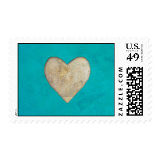 Rustic Heart Postage