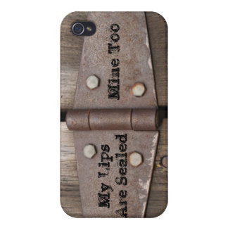 Rustic Hinge iPhone 4/4S Case