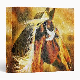 rustic  horse cowboy  western country wedding binder