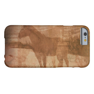 Rustic Horse Painting, Equine Art for Horse-lovers Barely There iPhone 6 Case