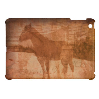 Rustic Horse Painting, Equine Art for Horse-lovers Case For The iPad Mini