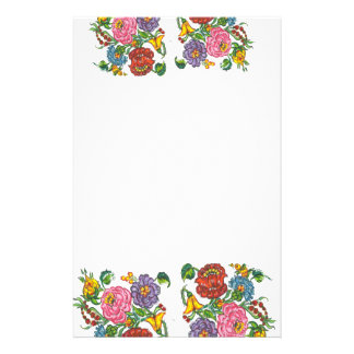 Rustic Hungarian Floral Stationery