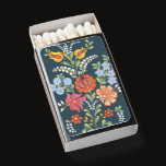 Rustic Hungarian flowers Matchboxes