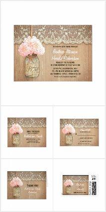Rustic Hydrangea Wedding Collection