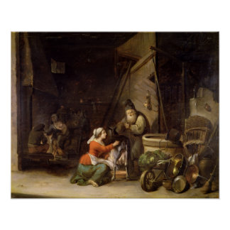 Rustic Interior Poster