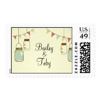 Rustic Jars Stamp