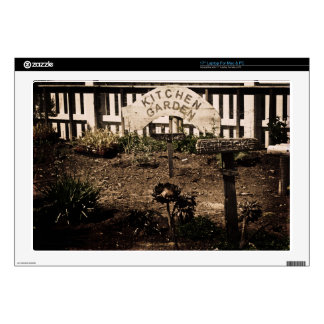 """Rustic Kitchen Garden Decal For 17"""" Laptop"""