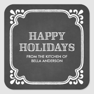 Rustic Kitchen   Holiday Baked Goods Stickers