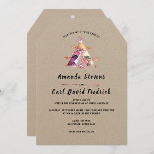 Gypsy Wedding Invitations Zazzle