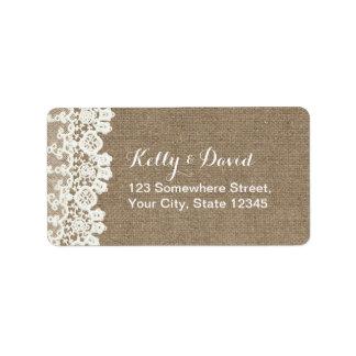 Wedding Rsvp Shipping, Address, & Return Address Labels | Zazzle