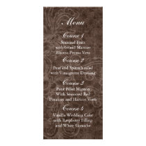 Rustic Lace Wrapped Mason Jar Wedding Rack Card