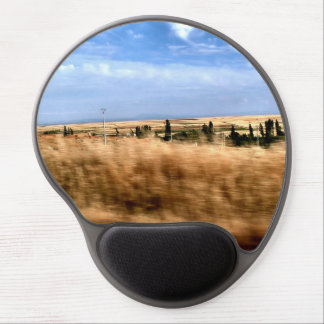 Rustic landscape from a car gel mouse pad