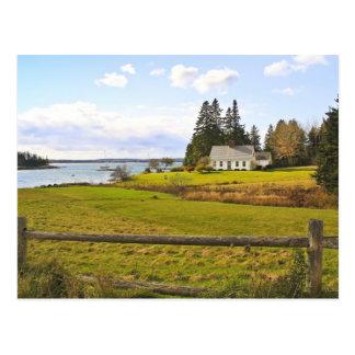 Rustic Landscape Postcard