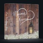 "Rustic Lantern Baby&#39;s Breath Floral Wedding Album 3 Ring Binder<br><div class=""desc"">Rustic Lantern Baby&#39;s Breath Floral Wedding Album.</div>"