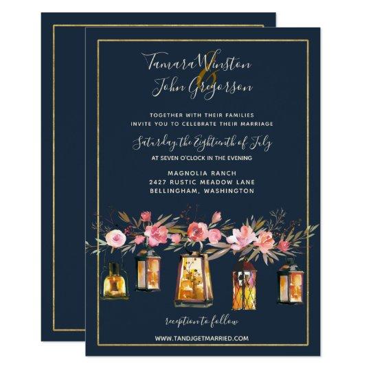 Coral Colored Wedding Invitations: Rustic Vintage Coral Color Wedding Invitation