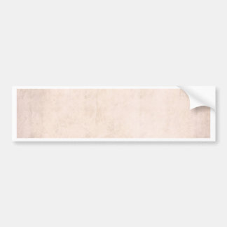 Rustic Light Apricot Bumper Sticker
