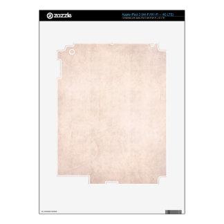 Rustic Light Apricot iPad 3 Decal