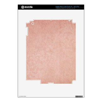 Rustic Light Redwood Decals For iPad 3