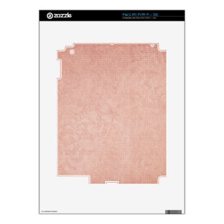 Rustic Light Redwood iPad 2 Decals