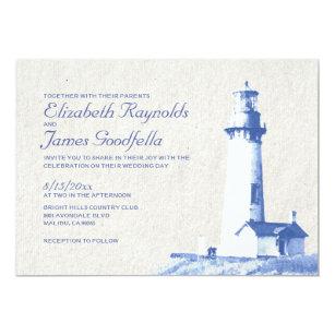 Lighthouse Wedding Invitations Zazzle