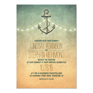 Nautical Wedding Invitations & Announcements | Zazzle