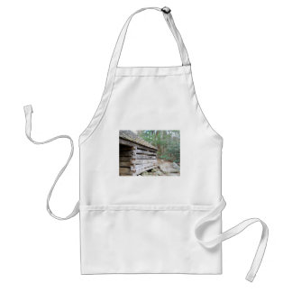 Rustic Log Cabin Adult Apron