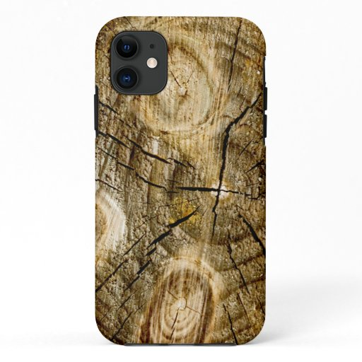 Rustic Log Roll iPhone 11 Case