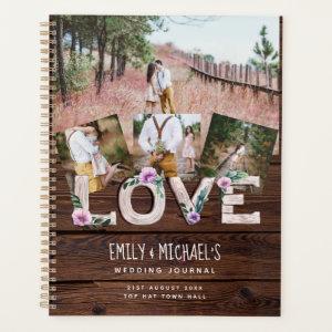 Rustic Love Lilac Wedding Bridal Shower Photos Planner