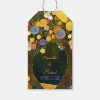 Rustic Love Trees Wedding Thank You Gift Tags