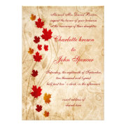 Rustic, fall invitations wedding invites by mgdezigns