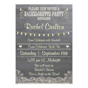 bachelor party invites