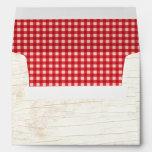 Rustic Mason Jar & Sunflowers Wedding Envelope