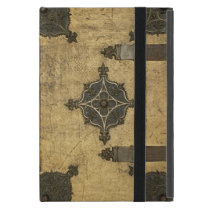 Rustic Medieval Leather Book Cover Design