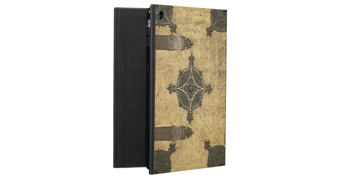 Leather Book Cover Design : Rustic medieval leather book cover design ipad air covers