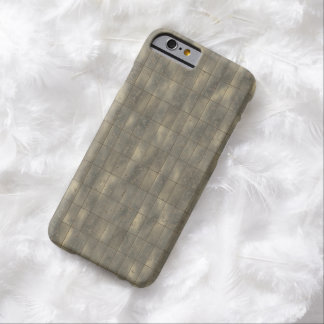 Rustic Metal Panels Texture Background Barely There iPhone 6 Case