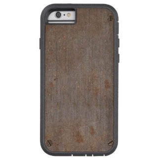 Rustic metal plate tough xtreme iPhone 6 case