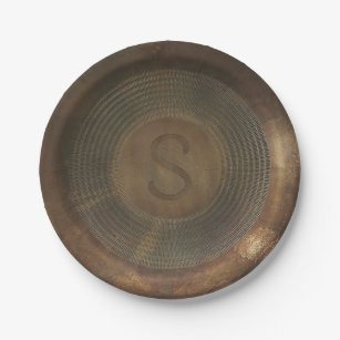 Rustic Plates | Zazzle