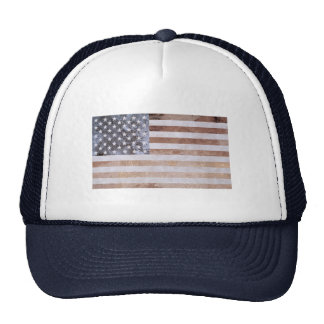 Rustic Mineral American Flag Trucker Hat