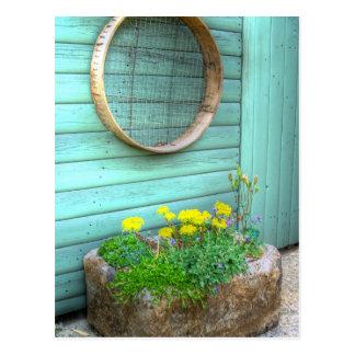 Rustic Mini Garden Postcard