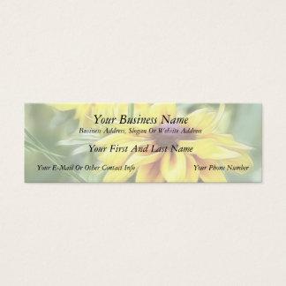 Rustic Mix Rudbeckias Mini Business Card
