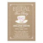 Rustic Modern Bridal Tea Party | Bridal Shower Card