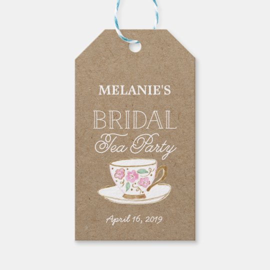 Modern Wedding Gifts: Rustic Modern Bridal Tea Party