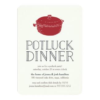 Potluck Dinner Invitations & Announcements | Zazzle