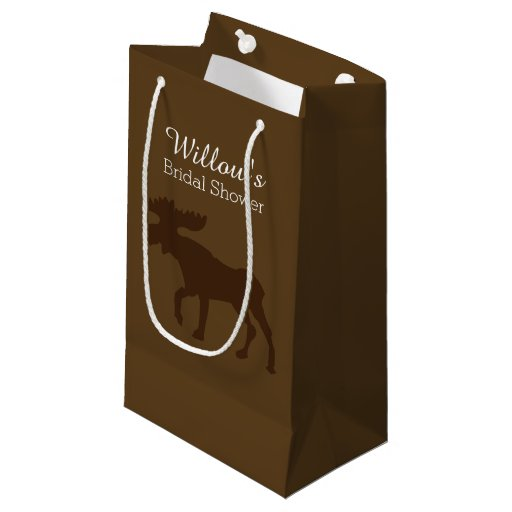 Rustic Moose All Occasion Gift Bag
