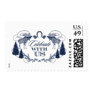 Rustic Moose Crest | Atelier Isabey Stamps