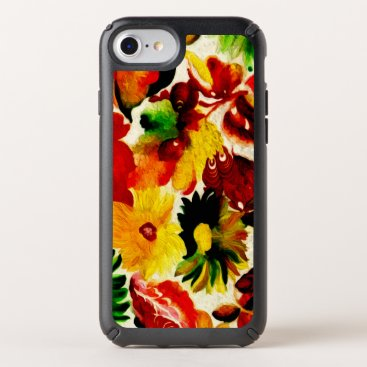Rustic Nature Fall Leaves Painting Speck iPhone Case