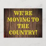 [ Thumbnail: Rustic New House Postcard ]