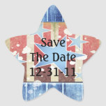 Rustic New Years Sticker