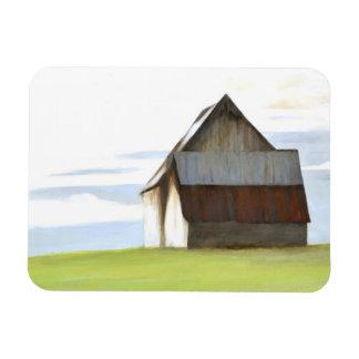 Rustic Old Barn Rectangular Photo Magnet