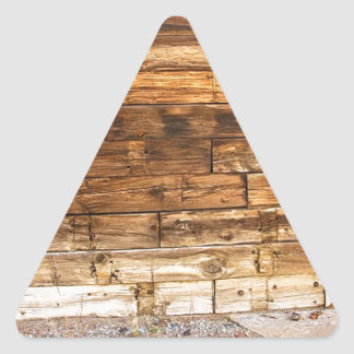 Rustic Old Colorado Barn Door and Window Triangle Sticker